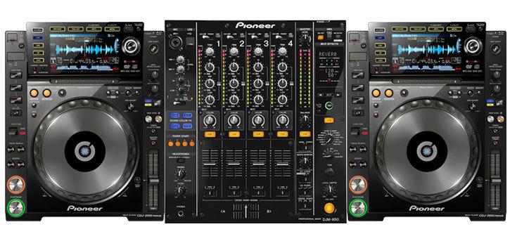 PIONEER CDJ 2000 NEXUS + DJM 850